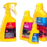 Shell car care bottle range