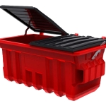 SULO industrial waste bin