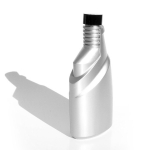 Opalite plastics 375ml automotive additive bottle
