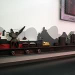 Newcastle regional museum interactive steel making exhibit