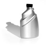Opalite plastics 500ml lautomotive additive bottle