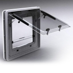 Opalite plastics electric caravan window range
